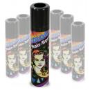 wholesale Toys: Hair Color Spray, black, 100ml