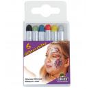 groothandel Speelgoed:6 Glitter pennen SB
