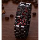 Großhandel Armbanduhren:LED-Metall-Stunde