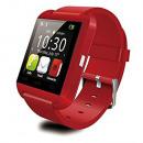 grossiste Informatique et Telecommunications: Montre-bracelet intelligente rouge U8