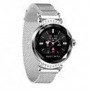 hurtownia Telefony komorkowe, smartfony & akcesoria: Inteligentny zegarek H2 Anette Signiture srebrny