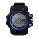 D watch blue smart, intelligent,