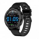 hurtownia Telefony komorkowe, smartfony & akcesoria:Czarny smartwatch L8