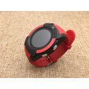 V8 Smart clock red, smart clock, SIM slot