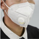 KN95 Hygienemaske mit Ventil (1Db) CE
