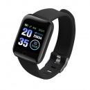 ID116 Plus Black Smartwatch
