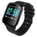 Großhandel Computer & Telekommunikation:A6 Smartwatch schwarz
