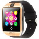 Q18 Złoty czarny smartfon, smartfon, gniazdo ...