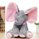 wholesale Jewelry & Watches: Singing little elephant - pink