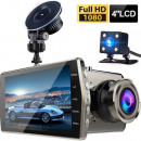 wholesale Car accessories: V5 car camera with dual lens and HD display