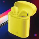 wholesale Consumer Electronics:I7S Yellow Headset