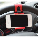 Telephone-mount  car mount for steering wheel