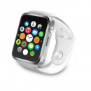 A1 White smart watch with SIM socket, smart watch