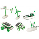 wholesale Pet supplies:6in 1 solar robot robot