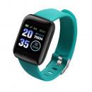 Großhandel Uhren & Wecker: ID116 Plus Green Smartwatch