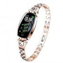 hurtownia Komputer & telekomunikacja: Zegarek damski Smart H8 Luxardo Gold