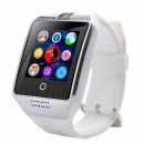 AlphaOne Curved Display Smartwatch Silver White Q1