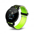 grossiste Informatique et Telecommunications: Bracelet intelligent ID119 Plus en vert