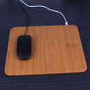 wholesale Computer & Telecommunications: Wooden qi padded mouse pad