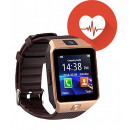 wholesale Computer & Telecommunications: M8 Gold Brown Heart Rate Monitor Smart clock, SIM