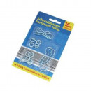 wholesale Ironmongery: Screw hooks range, 16tlg.