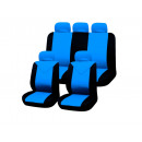 wholesale Toys: Car Seat Covers Set, 11-piece, blue-black