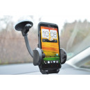 Smartphone holder  with suction foot and gooseneck