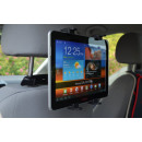 Tablet holder for headrests