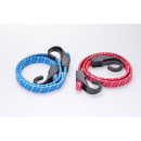 Luggage strand set of 2 red and blue