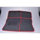 wholesale Carpets & Flooring: Car carpet set 4-piece red