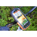 Bicycle mobile phone pocket large removable