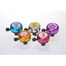 Bicycle bell, colorful with motive