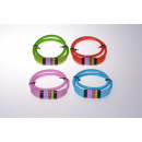 Combination Lock 4 anelli 65/10 colore assortito