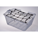 Luggage net for  bicycle baskets, 25 x 25 cm