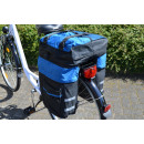wholesale Sports & Leisure: Bike Luggage Bag, Multifunctional, blue / black