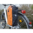 Pannier mondiale Tramp orange / noir