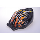 Helmet for cyclists flames Design