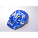 wholesale Sports & Leisure: Kids helmet for cyclists blue 52-56 cm head circum