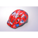Kids helmet for cyclists, red 52-56 cm head circum