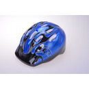 wholesale Sports & Leisure: Kids helmet for cyclists, black / blue 52-56 cm Ko