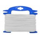 mayorista Jardin y Bricolage: cuerda de 25 metros universal blanco