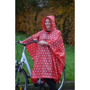 wholesale Coats & Jackets:Rain Poncho Quality Red
