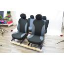 hurtownia Zabawki: 11-częściowy zestaw pokrowców na fotele, szaro-cza