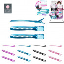 wholesale Hair Accessories: pince a hair  stylist x3, 4-times assorted
