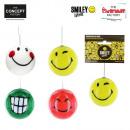 bolas de navidad deco Smiley, 4 tiempos surtido