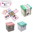 wholesale Haberdashery & Sewing: a sewing box  UNFOLDABLE x73, 2-times assorted