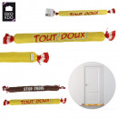 boudin de porte simple bonbon, 2-fois assorti