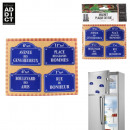 wholesale Toys: fridge magnet  brewery x4, 1-times assorted