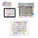 tablette educative bilingue, 2-fois assorti