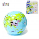 wholesale Toys: inflatable globe  35cm, 1-times assorted